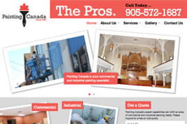 Painting Canada - Adam Sawicki Toronto Web Developer